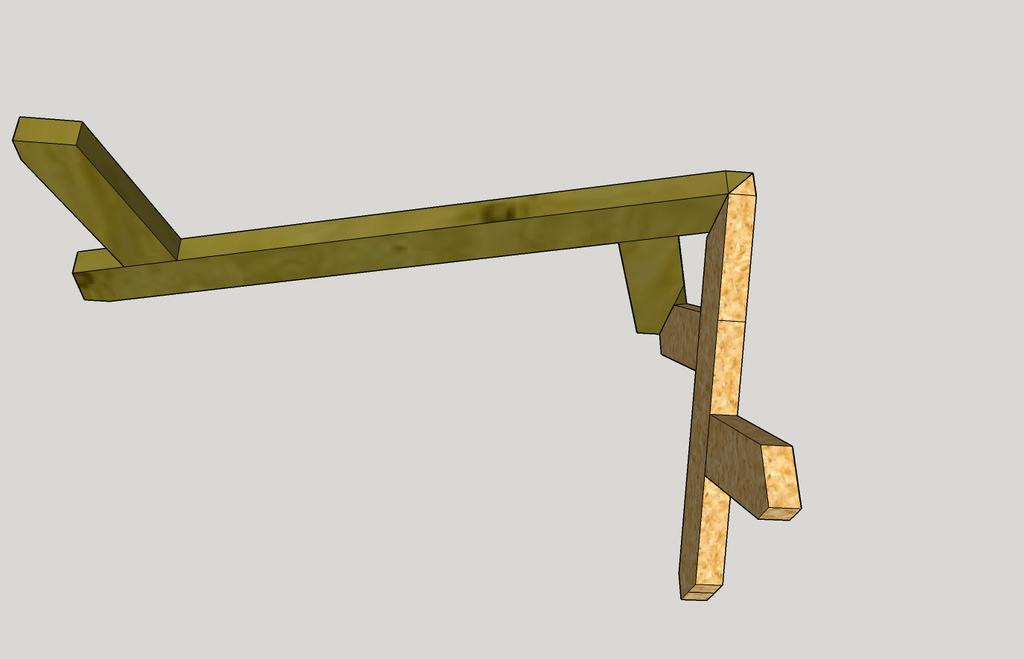 table basse rectangulaire en bois